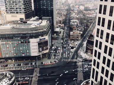 Tianjin city center