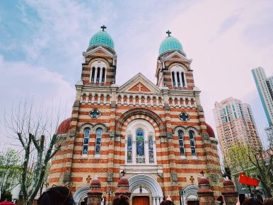St Joseph's Cathedral Church in Tinjin city