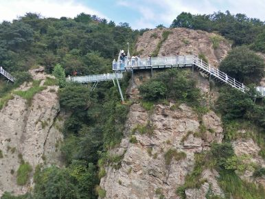 Glass bridge in Wuhu
