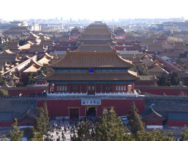 The Forbidden city of Beijing