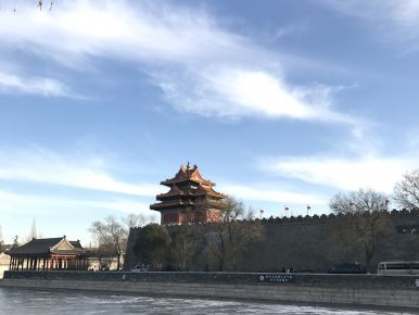 The ancient city wall, Beijing