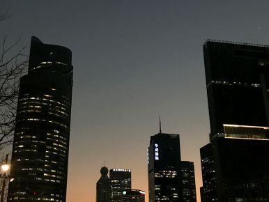 Nightfall, Hangzhou