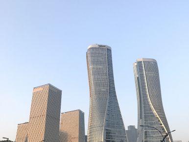 The modern skyline in Hangzhou (ii)