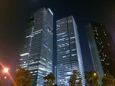 The modern skyline in Hangzhou (iii)
