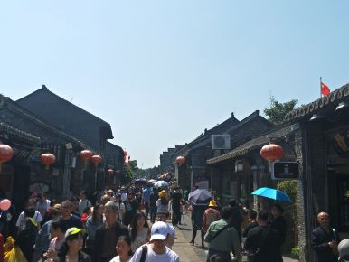 Street market-Yangzhou
