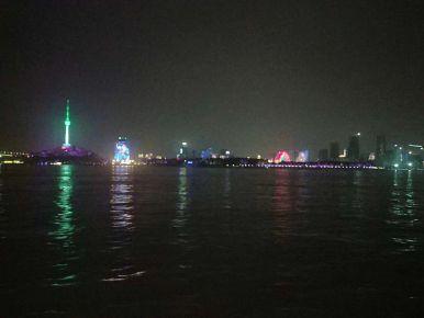 River night view-Wuhan